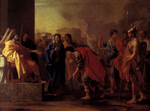 N.Poussin Magnanimity of Scipio. Museum of Fine Arts. Pushkin. Moscow