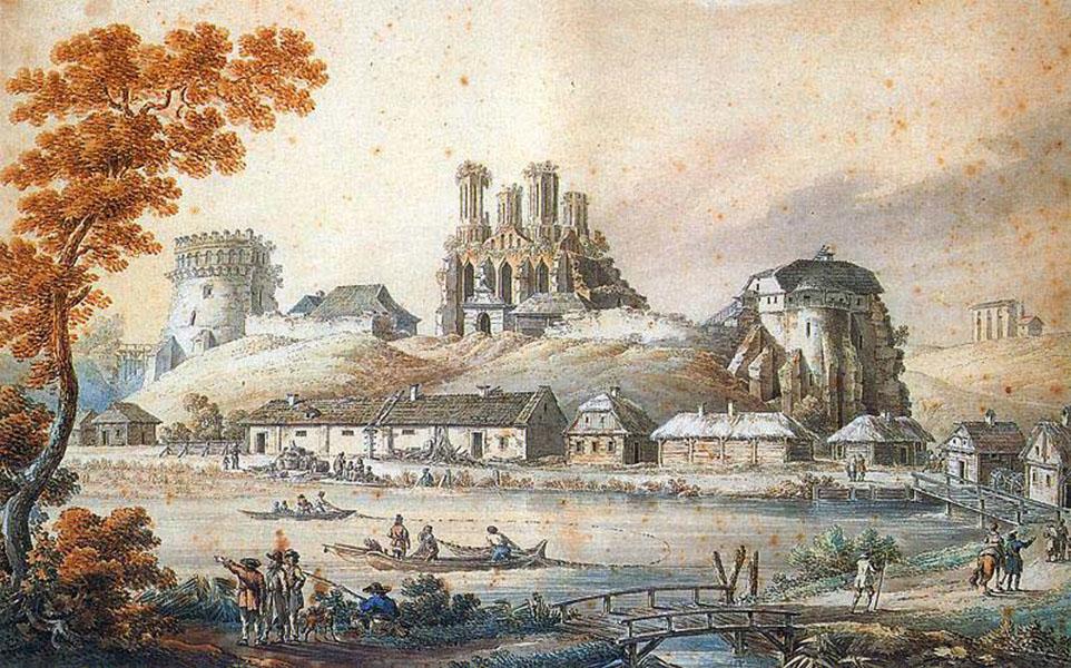 Острожский замок и другие памятники культуры Украины второй половины  XVI ст