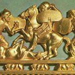 Золотой гребень из кургана Солоха